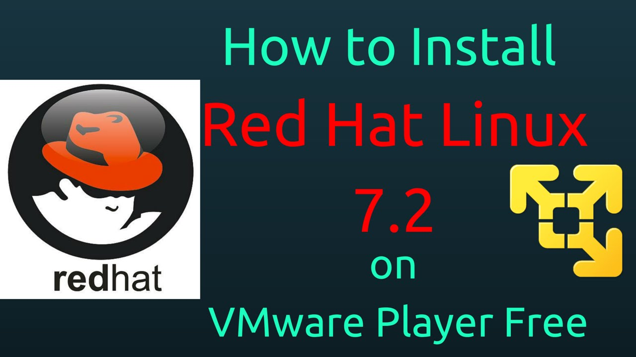 How to Install Red Hat Linux 7 2 on VMware Player Free [Subtitle] [HD]