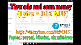 Earning Websites Without Investment Worldwide | Earn USD Rubble Free New Paying Websites | vuexybux