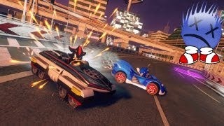 Sonic & Timm All-Star Racing Transformed (german)