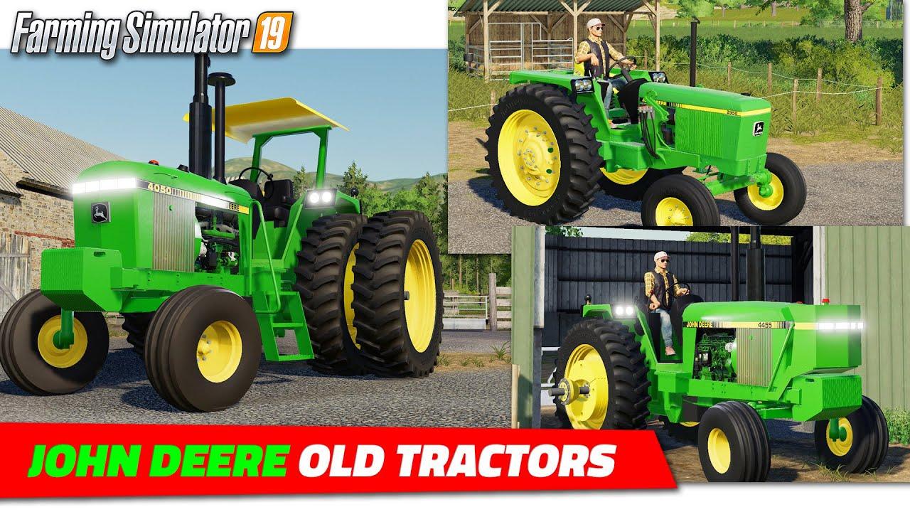 Old John Deere Tractors Fs19