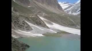 Sheshnag Lake and glaciers in Amarnath
