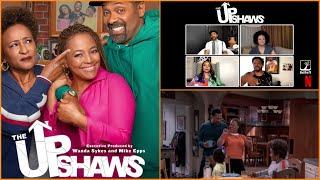The Upshaws Interview w/ Mike Epps, Wanda Sykes and Kim Fields on Netflix