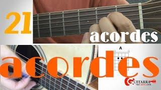 21 acordes de guitarra para tocarlo casi todo