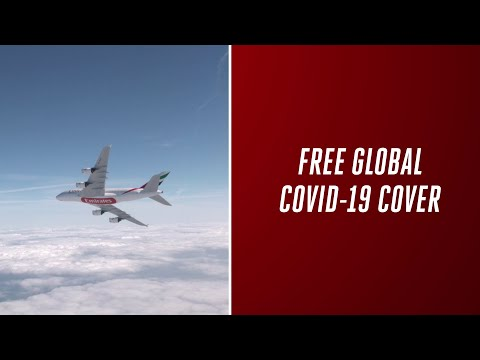 Emirates becomes world's first airline to provide free global COVID-19 cover to customers