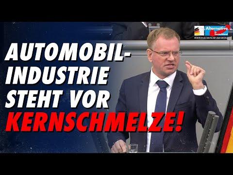 Automobilindustrie steht vor Kernschmelze! - Dirk Spaniel - AfD-Fraktion im Bundestag