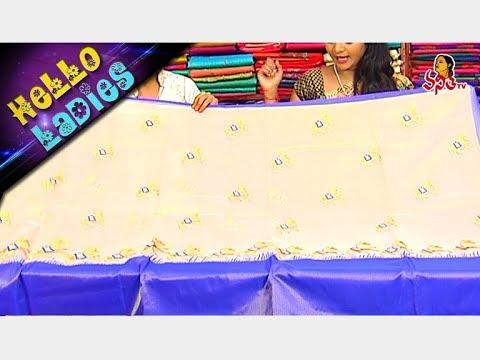 Specially Designed Madurai Kota & Tissue Fabric Sarees || Hello Ladies || Vanitha TV