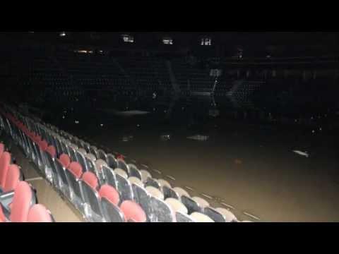 Calgary's Saddledome: A look inside a devastated arena