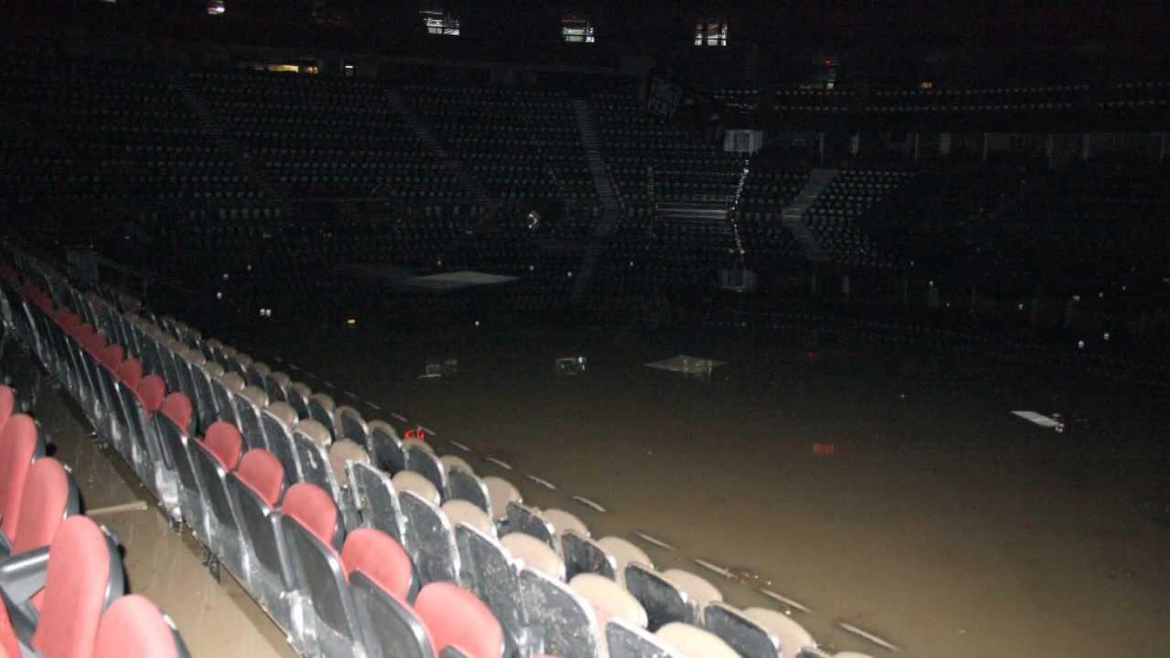 Calgarys Saddledome A look inside a devastated arena