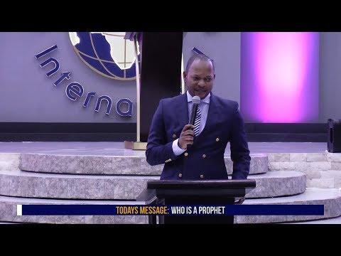 Pastor Alph LUKAU - Who is a prophet (Part 1)
