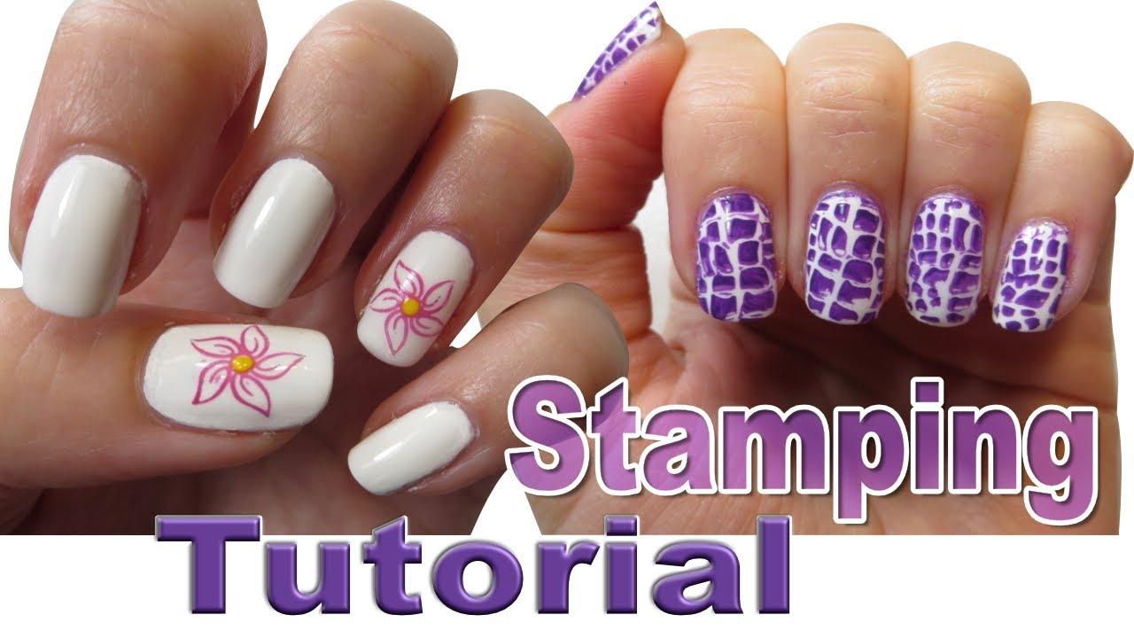 Nail stamping for beginners nail art basics youtube nail stamping for beginners nail art basics prinsesfo Images
