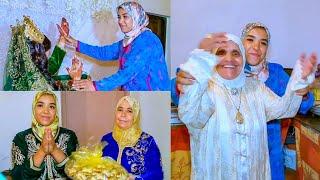 النشاط هاهو شاط😉 شوفو كيفاش فرحنا مع العروسة بمنزل أمها