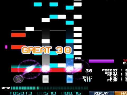 ★23 ★★4 %E3%83%96%E3%83%B3%E3%82%BF%E3%83%B3 ~Falling in 'B' mix~ hard