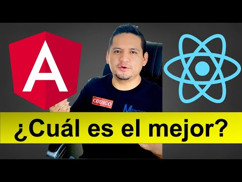 Angular VS React - ¿Cuál es el mejor?  Which one is the best? thumbnail