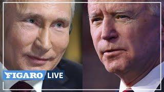 🔴 Revivez la rencontre entre Joe Biden et Vladimir Poutine