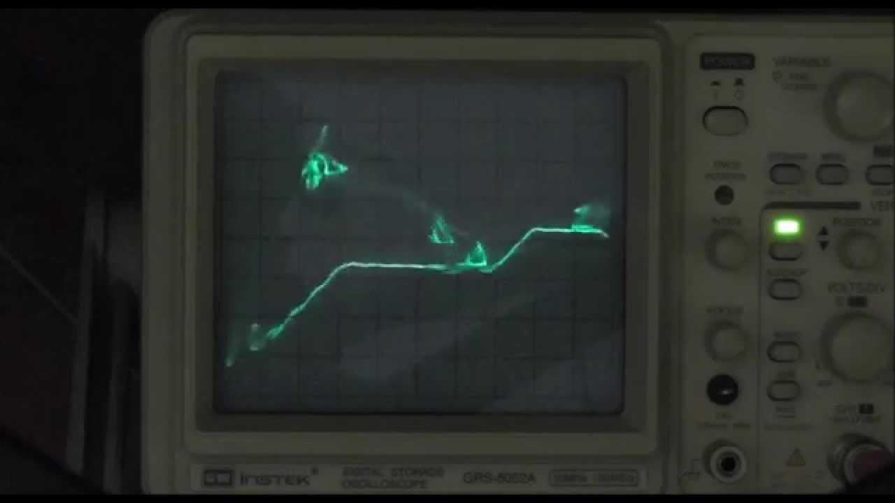 DL#010 - Beams Of Light Oscilloscope Demo