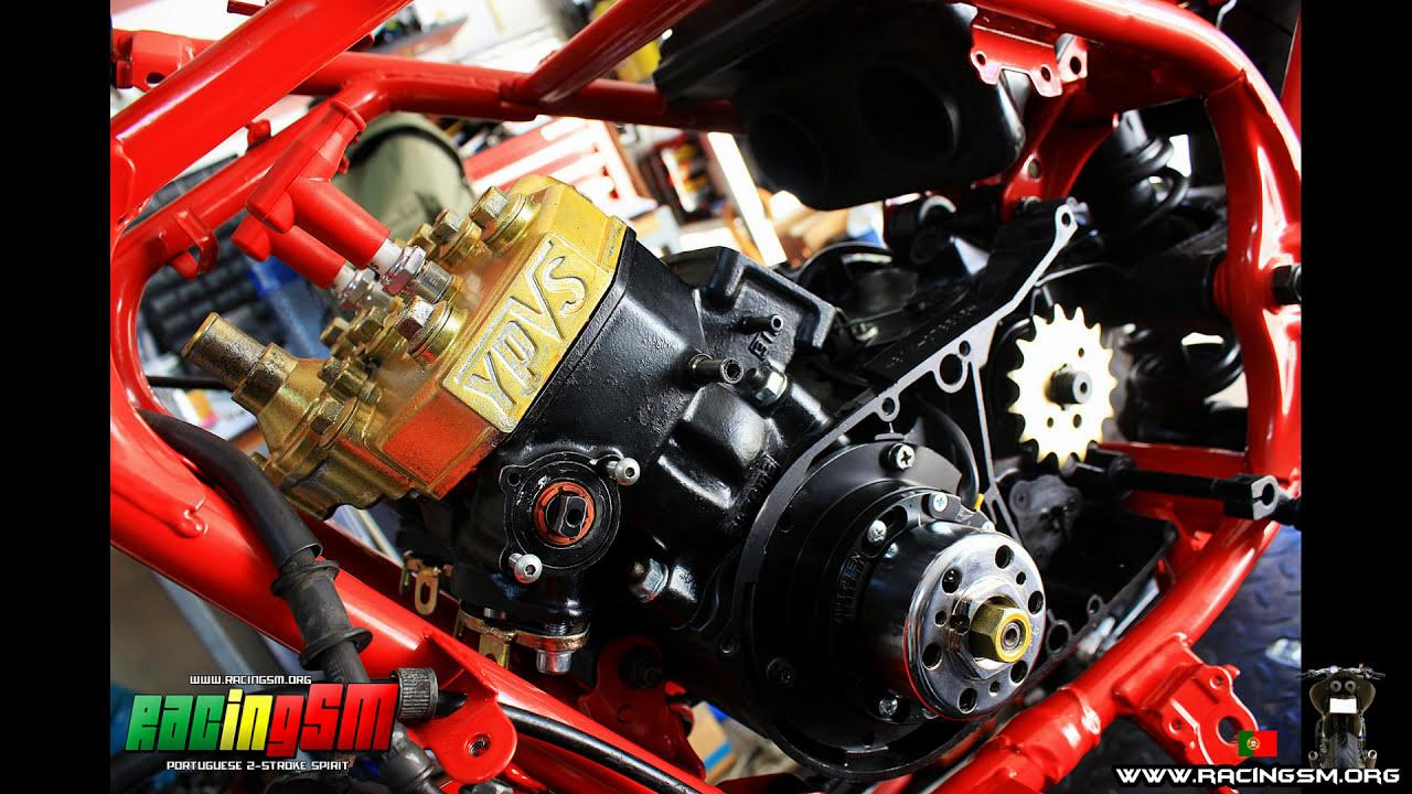 Yamaha Rd 350 Ypvs || Sound-Check  Racingsm 01:12 HD