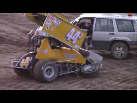 Butler Motor Speedway Sprint Heat #2 8/5/17