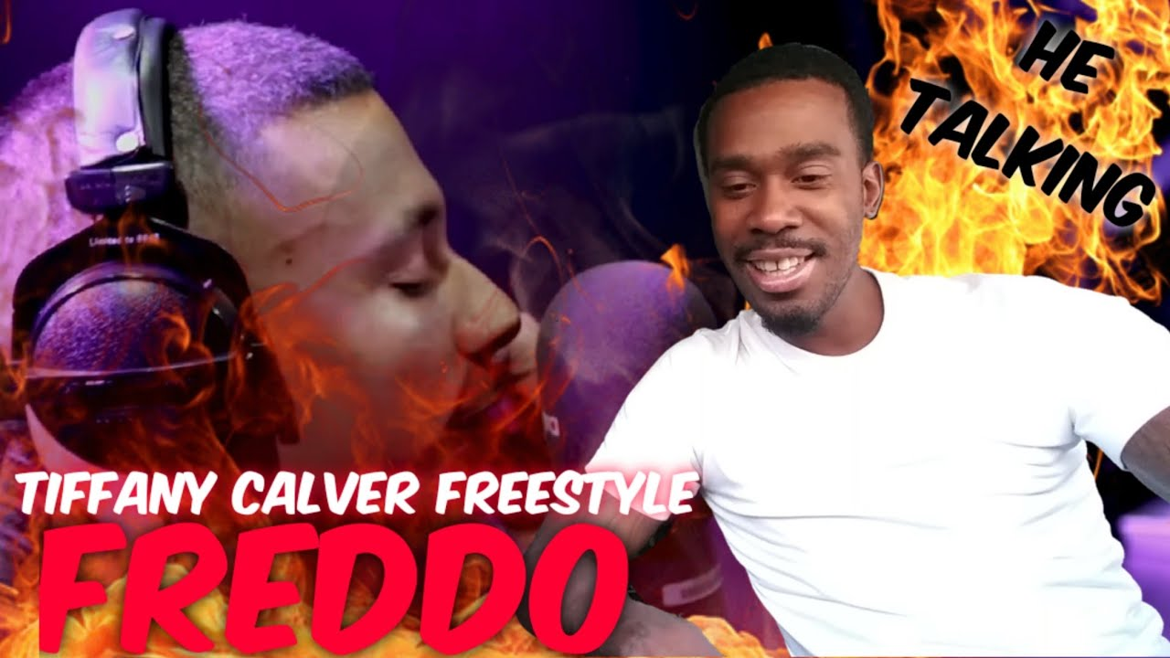 AMERICAN REACTS TO UK RAPPERS Freddo - Tiffany Calver Freestyle