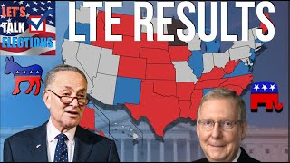 2020 Senate Map | Subscriber Decided Results