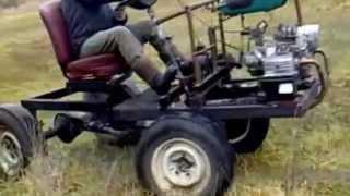 Самодельный трактор 1