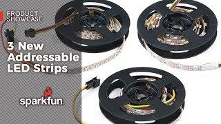 Product Showcase: 3 New Addressable LED Strips