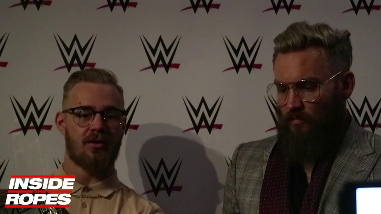 a5141d03a2c6 Trent Seven   Tyler Bate TALK winning NXT Tag Team Titles