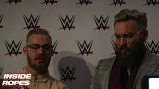 Trent Seven & Tyler Bate TALK winning NXT Tag Team Titles, WWE NXT UK and more