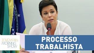 Nova ministra do Trabalho, Cristiane Brasil, foi condenada em processo trabalhista