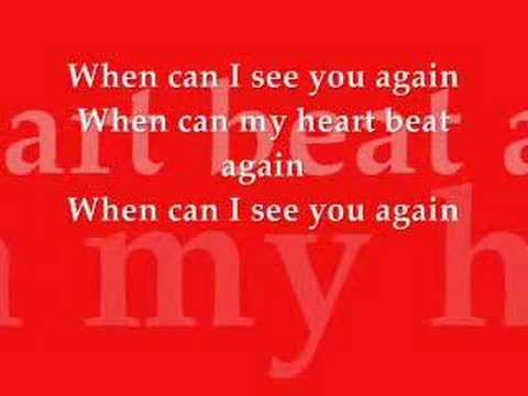 Babyface - When Can I See U Again