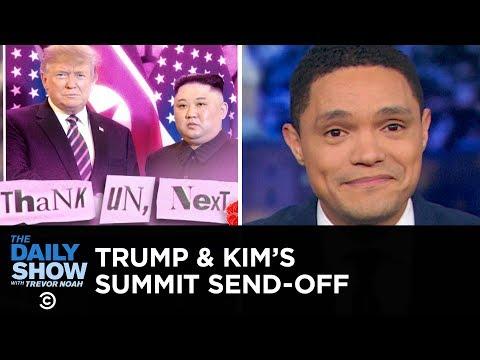 Trump & Kim Fail to Strike a Nuclear Deal | The Daily Show