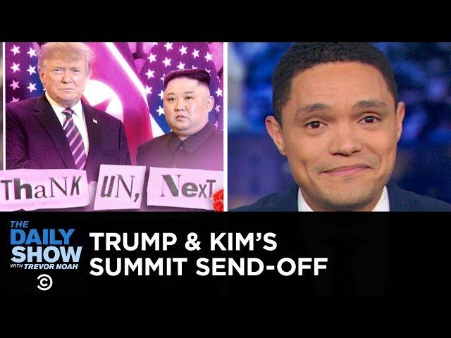 Trump and Kim Jong-un Fail to Strike a Nuclear Deal | The Daily Show