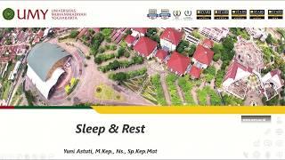 Rhythmic Movement Disorder: Sleep Parasomnia Case Study, and some Fun.