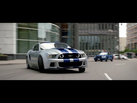 Need For Speed - Ford Mustang Scene