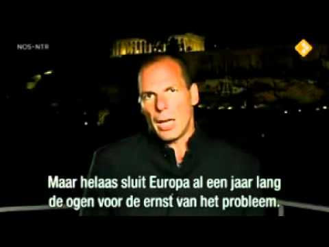 Yanis Varoufakis about the Greek crisis and the European banking system (Greece EURO)