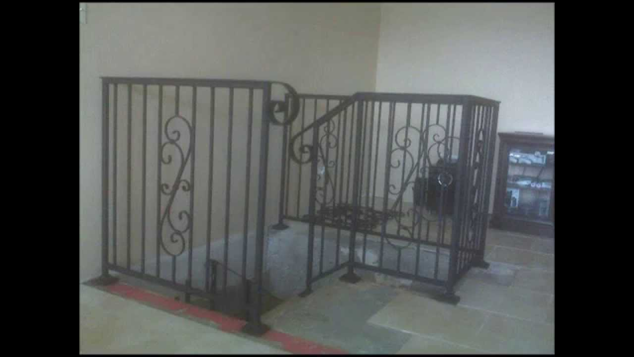 Spicewood Metalworks, Inc.   Custom Metal Inside Stair Railing