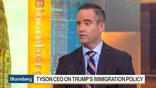 Tyson Foods CEO Says He's Happy About Staffing of Plants