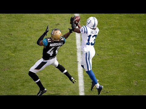 Matt Hasselbeck Hits T.Y. Hilton for Huge 57-Yard Play! | Colts vs. Jaguars | NFL