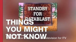 The Datablast: Experimental Interactive TV From The 1990s