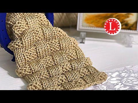 LOOM KNITTING Stitches Puffy Basket Weave Basketweave On Large Gauge