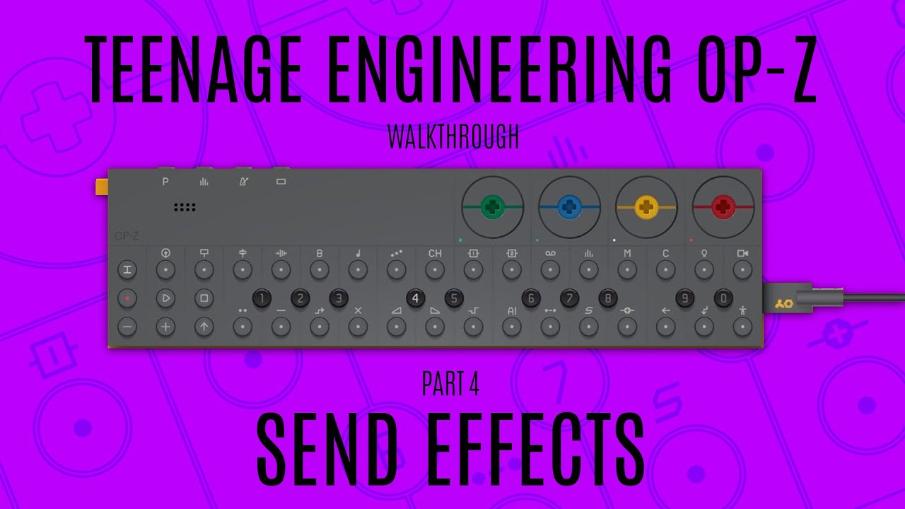 Latest Teenage Engineering OP-Z news, video, and tutorials