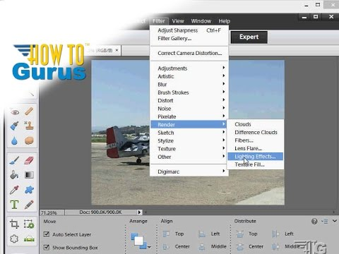 Create layers in photoshop elements.