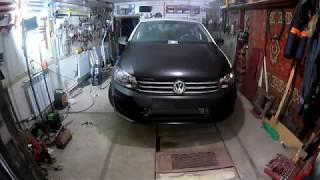 Volkswagen Polo. Замена крыла,капота, бампера. Рихтовка брызговика.