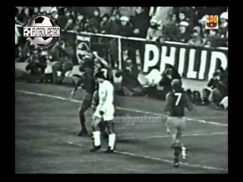 Real Madrid 0 vs Barcelona 5 Liga 1973/1974 Johan Cruyff FUTBOL RETRO