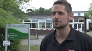 Forces TV interviews Ricky Banner about leaving the army and training to work in education.