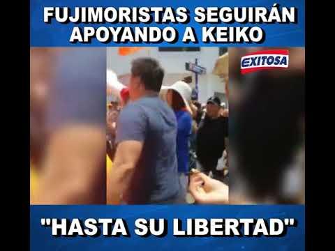 "Fujimoristas seguirán apoyando a Keiko ""hasta su libertad"""