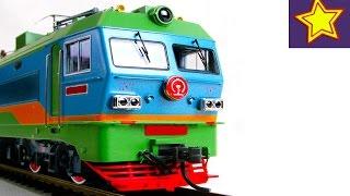 Огромная железная дорога, поезда, машинки Гранд Макет VLOG Video for children