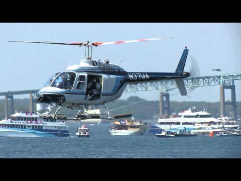 Helicopter Volvo Ocean Race Newport RI