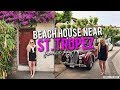 OUR BEACH HOUSE NEAR ST. TROPEZ + ROOM TOUR // FRANCE VLOG DAY 9 || Kellyprepster