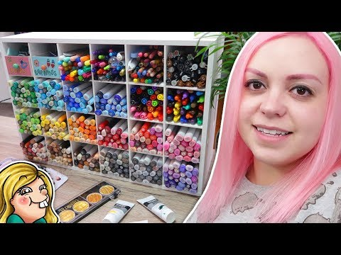ART ROOM TOUR 2018