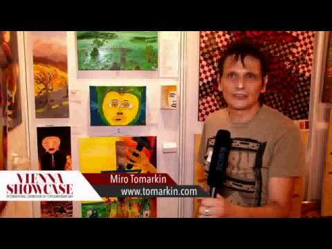 Miro Tomarkin Interview at: The Vienna showcase, museum of young art Wien